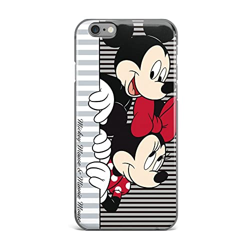 GSPSTORE iphone 7 Plus Case Disney Cartoon Mickey Minnie Mouse Soft Transparent TPU Protector Cover for