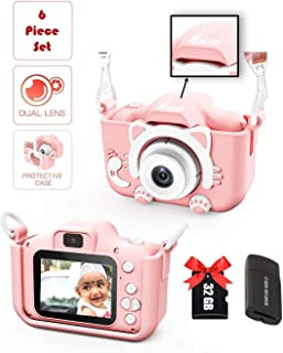 Kids Digital Dual Camera with Selfie Mode iKID | For Smart Children of Age 3 4 5 6 7 8 9 Year | Best Birthday Gift for Boy...