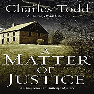 A Matter of Justice cover art