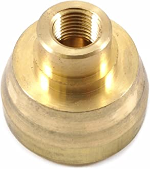 Barbed Hose Splicer Forney 75361 Brass Fitting 1//4-Inch to 1//4-Inch