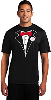 Performance Tuxedo T-Shirt Competitor - Loose Athletic Dry Fit Material