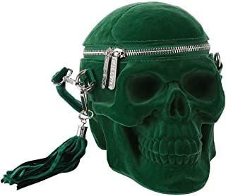 Killstar Schädel Handtasche - Grave Digger Skull Grün