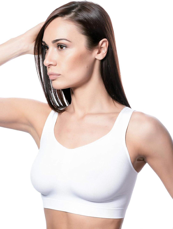 RONDO Popular Womens Comfortable Sleep Bras Soft Thin Daily Overseas parallel import regular item Stretch