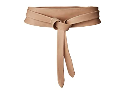 ADA Collection Obi Classic Wrap Belt (Nude) Women
