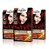 Palette Intense Cream Coloration Intensive Coloración del Cabello L88 Burdeos Luminoso - Pack de 3