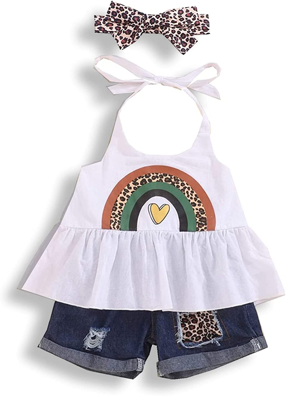 bilison Jacksonville Mall Toddler Girl Clothes Sleeveless Sling Ranking TOP17 Cami Rainbow Dress