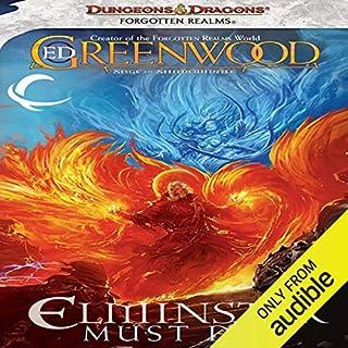 Elminster Must Die audiobook cover art