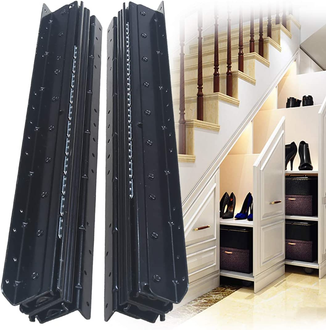 YENUO Heavy Duty New color Drawer Slides Full Extension i 24 Complete Free Shipping