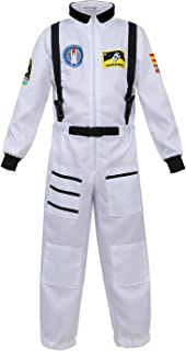 Haorugut Astronaut Costume for Kids Space Suit Role Play Dress up Costume