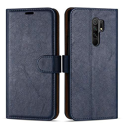 Case Collection Hochwertige Leder hülle für Xiaomi Redmi 9 Hülle (6,53