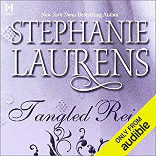 Tangled Reins                   By:                                                                                                                                 Stephanie Laurens                               Narrated by:                                                                                                                                 Gayle Hendrix                      Length: 10 hrs and 55 mins     150 ratings     Overall 3.8
