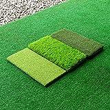 FORB Tapis de Golf pour Entraîner Drives et Chips (FORB Tapis de Golf à Triple Gazon)