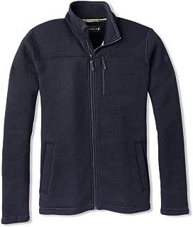 Fleece Full Zip Jacket - Men's Hudson Trail Merino Wool Outerwear