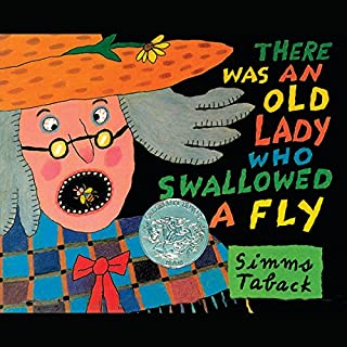 There Was an Old Lady Who Swallowed a Fly audiobook cover art