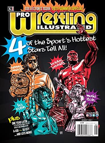 Pro Wrestling Illustrated August 2021-Kenny Omega, Bobby Lashley, Lio Rush, Maki Itoh (English Edition)