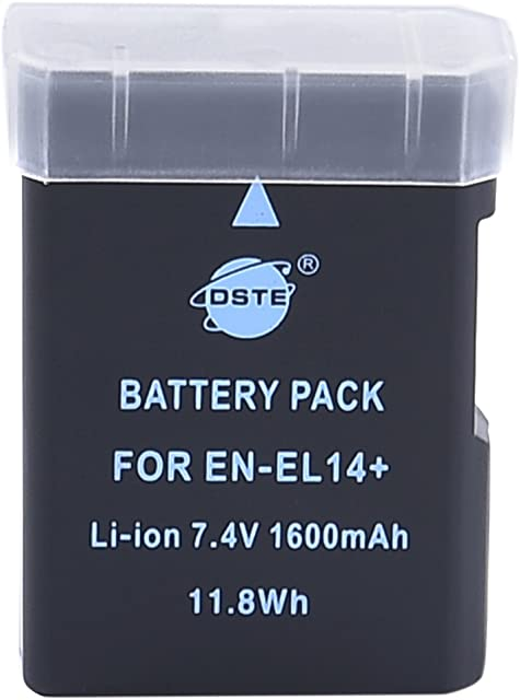 DSTE EN-EL14 Rechargeable Li-Ion Battery for Nikon Coolpix P7000 COOLPIX P7100 CoolPix P7700 DF D3100 D3200 D5100 D5200 D5300 Digital Cameras