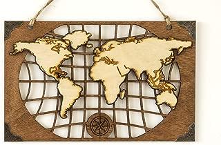 Best world map laser cut Reviews