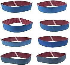 p G40 ponceuses /à bande portatives RETOL 10 bandes abrasives 610 x 100 mm corindon normal