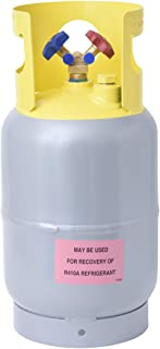 Flame King Refrigerant Recovery Cylinder Tank – Reusable – DOT Compliant..