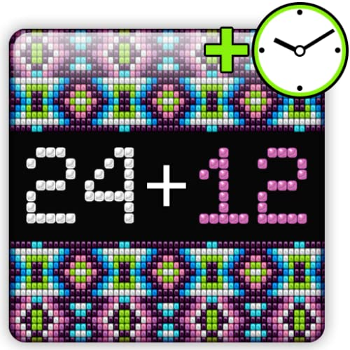 Aztec Beaded Gear Fit Clock
