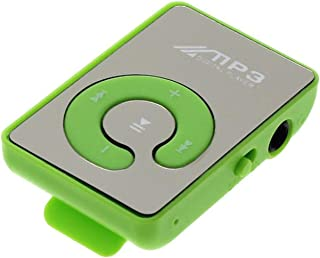 MP3 Portable Player,Mini Clip USB MP3 Player,MP3 Player for Kids Music Media Support Micro SD TF Card Fashion HiFi MP3 for...