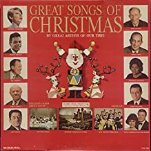 Great Songs of Christmas by Great Artists of Our Time