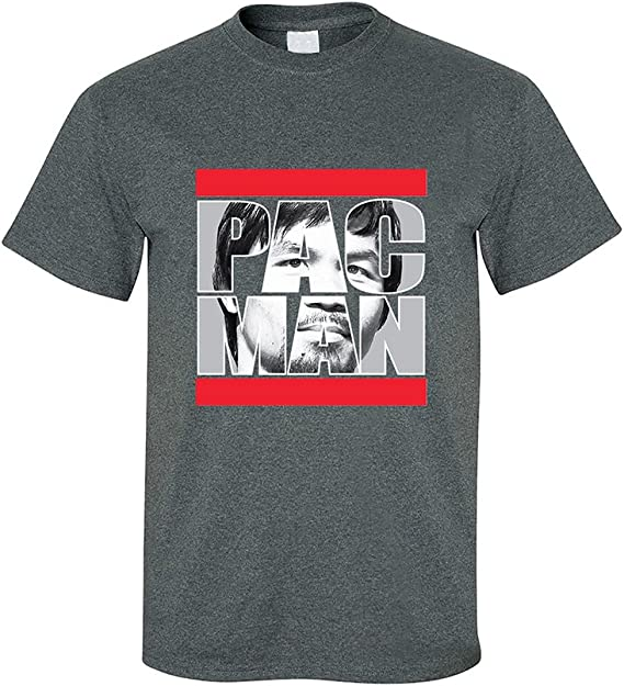 Abigails Home Manny Pacquiao Boxing Men Short Sleeve Tee Sports T Shirt Tees Fitness GYM