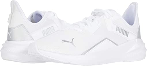 Puma White/Metallic Silver