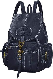Women Leather Backpack Purse Teen Girls Travel Drawstring Rucksack Vintage Style Ladies Daypack College School Bag