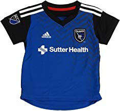 Outerstuff San Jose Earthquakes Adidas MLS Toddler Home Blue Soccer Jersey