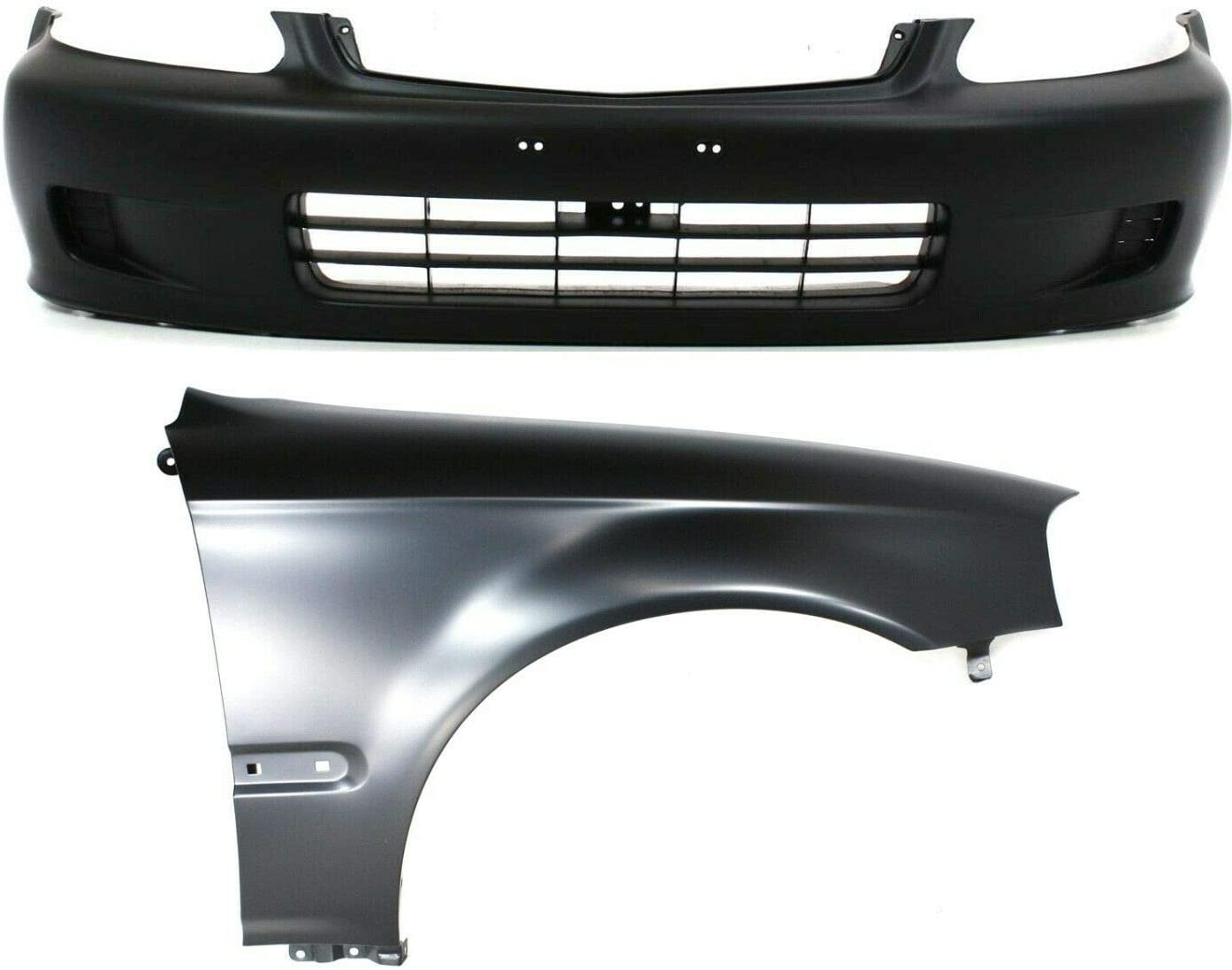 Mesa Mall AntsGroup Bumper Cover Kit For and New color Front Fender 2Pc