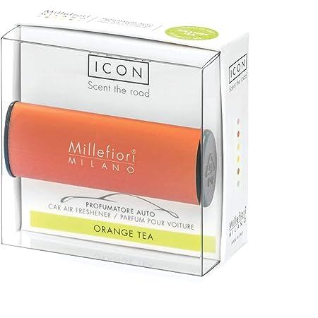 Millefiori カーエアフレッシュナー【ICON】 オレンジ オレンジティー 16CAR-A-OR