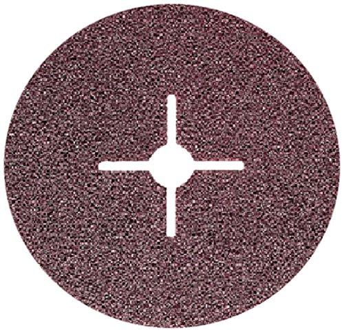 Sonnenflex Silverstar, Set di dischi abrasivo in fibra vulcanica con rivestimento in ossido di alluminio, 25 pz. / 142 x 22,23 mm, ASE 24