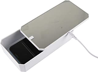Senior ICare UV Phone Sanitizer and Charger - Portable Smartphone Sterilizer Box, with Wireless Charging, 9 UV-C LED sanit...