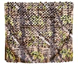 Auscamotek Turkey Blinds Material Durable Camo Netting Camouflage Net for Hunting Gear Ground Portable Blind Stree Stand Chair Green 5x10 Feet