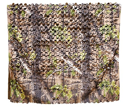 %11 OFF! Auscamotek 300D Camo Netting Camouflage Nets Turkey Hunting Blinds Material for Ground Port...