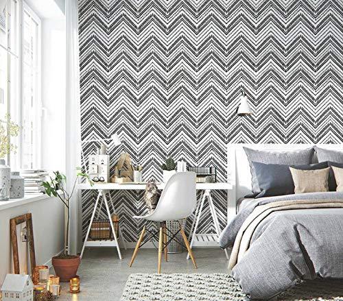 Papel pintado autoadhesivo moderno papel pintado a rayas vinilo comedor muebles de dormitorio
