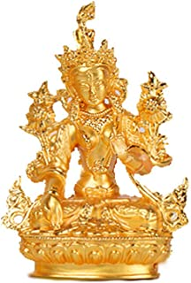 Prime Fengshui Green Tara Statue India Buddhist Sculpture Goddess of Compassion and Lucky Home Decoration