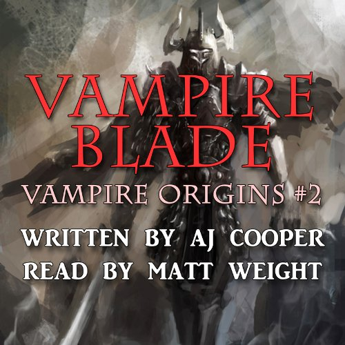 Vampire Blade audiobook cover art