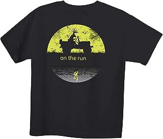 Browning Toddler Graphic T-Shirt Lock Blocks Kelly Green 2T