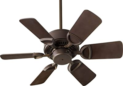 Quorum 43306-86 Transitional 30``Ceiling Fan from Estate Collection in Bronze/Dark Finish