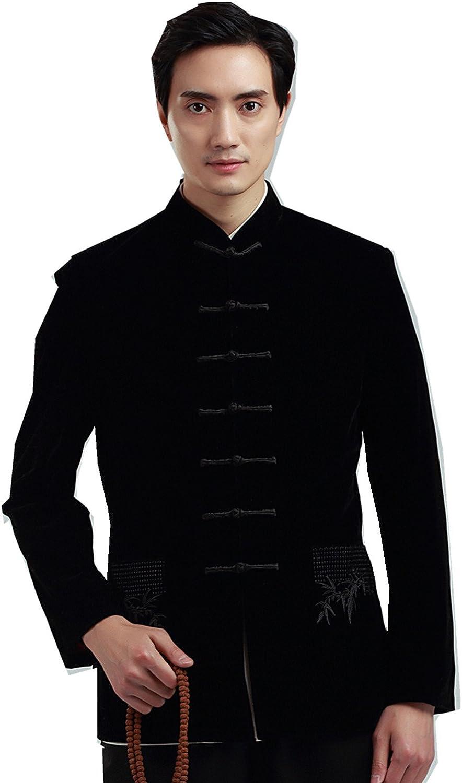 Max 61% OFF store Shanghai Story Men's Chinese Tang Suit Coa Jacket Velvet Kung Fu