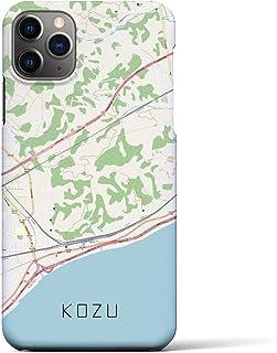クロスフィールド(Crossfield)【国府津】地図柄iPhoneケース(バックカバータイプ・ナチュラル)iPhone 11 Pro Max 用