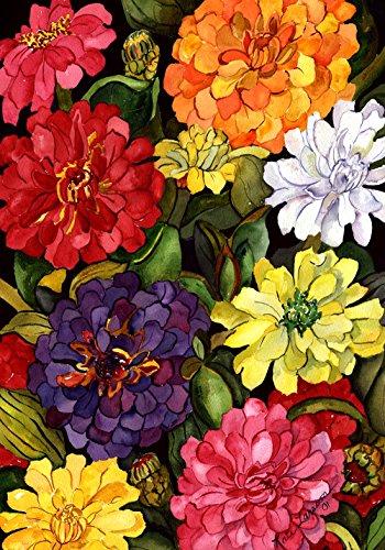 Toland Home Garden 102064 Lhasa-Orange & Violet (4' x 6') 28 x 40 Inch Decorative, House Flag (28' x 40')