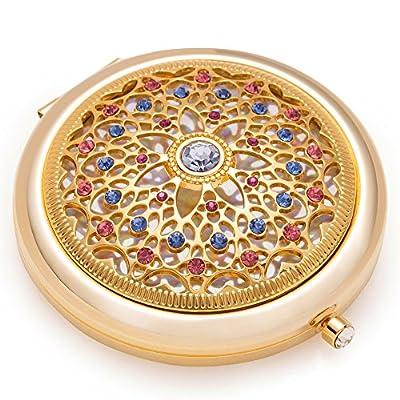 Jinvun Luxus Taschenspiegel Einzigartiges