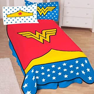 Wonder Woman Girls Twin Size Bedding Blanket