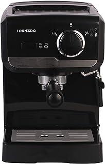 Tornado TCM-11415-B Espresso Machine, 15 Bar - Black