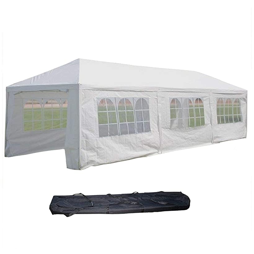 DELTA Canopies 10'x30' with Metal Connectors Wedding Party Tent Gazebo Canopy - WDMT1030
