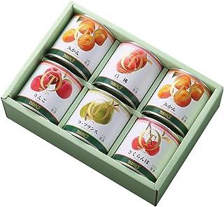 新宿高野 国産フルーツ缶詰セット6入