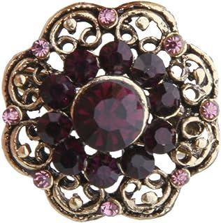 couleurs harmonieuses styles de mode recherche d'authentique Amazon.fr : broches anciennes - Bijoux fantaisie : Bijoux